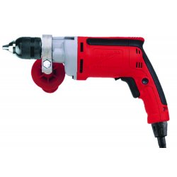 Milwaukee Electric Tool - 0302-20 - Milwaukee 0302-20 120V AC 1/2' Magnum Drill 0-850 RPM with Side Handle