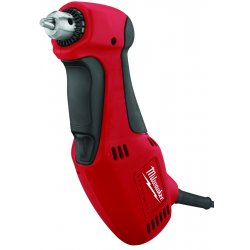 Milwaukee Electric Tool - 0370-20 - Milwaukee 120 V 3.5 A 1300 RPM Corded Close Quarter Angle Drill With 3/8 Chuck, ( Each )