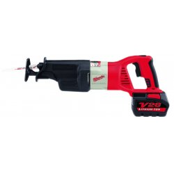 Milwaukee Electric Tool - 0719-22 - Cordless Reciprocating Saw Kit, 28.0 Voltage, Keyless Shoe Design, Battery Included