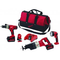 Milwaukee Electric Tool - 092823 - Milwaukee M28 3-Piece Combo Kit