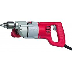 "Milwaukee Electric Tool - 1001-1 - 1/2"" Electric Drill, 7.0 Amps, Spade Handle Style, 0 to 600 No Load RPM, 120VAC"