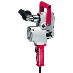 Milwaukee Electric Tool - 1670-1 - Milwaukee 1670-1 120V AC 1/2' Hole Hawg Drill 900 RPM w/ Pipe Handle