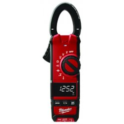 "Milwaukee Electric Tool - 2236-20 - Clamp On Digital Clamp Meter, -40° to 752°F Temp. Range, 1-1/3"" Jaw Capacity, CAT III 600V"