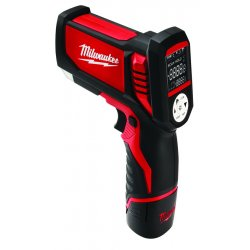 Milwaukee Electric Tool - 2277-21 - Milwaukee Temp-Gun M12 12 V Lithium-Ion Redlithium XC Cordless Laser Thermometer Kit (Includes 30-Minute Charger, 1) M12 Lithium-Ion Battery Pack, K-Type Thermocouple, Manual And Carrying Case) (For HVAC/R Kit)