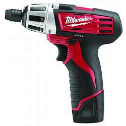"Milwaukee Electric Tool - 2401-22 - 1/4"" Hex Quick Change Cordless Screwdriver Kit, 12.0 Voltage, Battery Included"