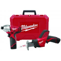 Milwaukee Electric Tool - 2491-22 - Milwaukee 2491-22 M12 12-Volt Cordless Power Lithium-Ion 2-Tool Combo Kit