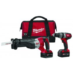 Milwaukee Electric Tool - 2694-22 - M18 Cordless Combination Kit, 18.0 Voltage, Number of Tools 2