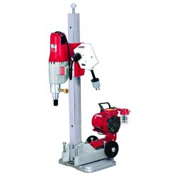 Milwaukee Electric Tool - 4115-22 - Diamond Coring Rig, 20.0 Amps @ 120V, 4.8 Motor HP, 450/900 No Load RPM