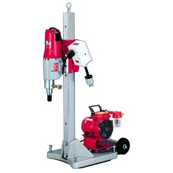 Milwaukee Electric Tool - 4120-22 - Diamond Coring Rig, 20 Amps @ 120V, 4.8 Motor HP, 450/900 No Load RPM