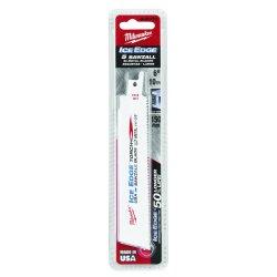 "Milwaukee Electric Tool - 48-01-9784 - 6"" Ice Edge Torch Sawzall Bld 18 Tpi"