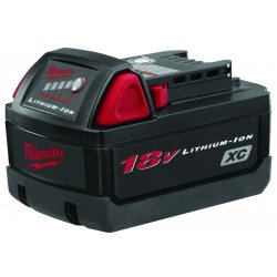 Milwaukee Electric Tool - 48-11-1828 - M18 REDLITHIUM XC Battery, 18.0 Voltage, Li-Ion