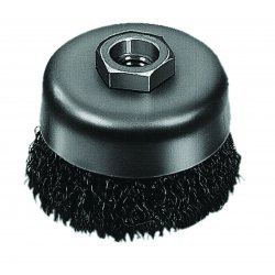 Milwaukee Electric Tool - 48-52-1600 - Milwaukee 48-52-1600 6-Inch 40671 Thread Carbon Steel Crimped Wire Cup Brush