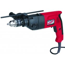 Milwaukee Electric Tool - 537821 - Milwaukee 1/2 in. Pistol Grip Dual Torque Hammer Drill, 0-1350/0-2500 RPM with Case - Hammer Drill