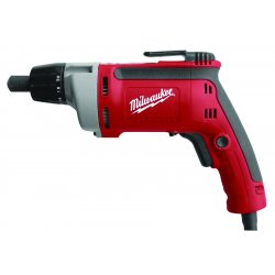 Milwaukee Electric Tool - 6780-20 - 1/4 Hex Electric Screwdriver, 6.5 Amps, 140 Max. Torque (In.-Lbs.)