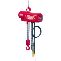 Milwaukee Electric Tool - 9568 - 1 Ton Electric Chain Hoist with 20ft Lift