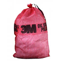 3M - T-240 - Synthetic Fibers/Polypropylene/Polyester Absorbent Pillow, Fluids Absorbed: Oil Only/Petroleum, 25""