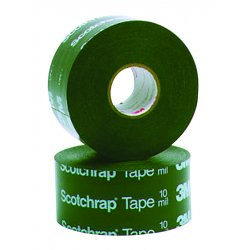 3M - 50-PRINTED-4X100FT - 3M 50-PRINTED-4x100FT 10 mils. Corrosion Protection Tape