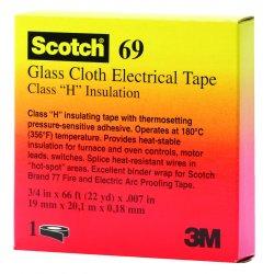 3M - 10083 - 69 1/2x66 Glass Cloth Tape, Ea
