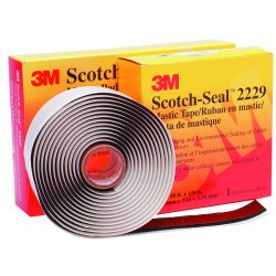 "3M - 2229-3-3/4X10FT - Mastic Tape Compound 125mil, 3-3/4"" x 10'"