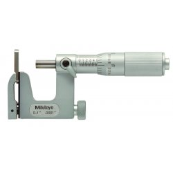 "Mitutoyo - 117-107 - Micrometer, External, Uni-Mike, 1"" Measuring Range, 0.0002"" Accuracy, 0.0001"" Graduations"