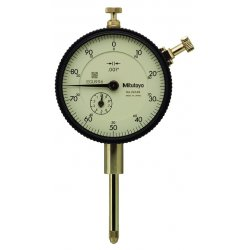 "Mitutoyo - 2416S - Continuous Reading Dial Indicator, AGD 2, 2.250"" Dial Size, 0 to 1"" Range"