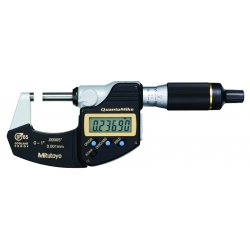 Mitutoyo - 293-180 - 0.1'/0-25mm IP65 Micrometer with SPC