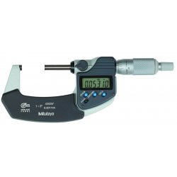 Mitutoyo - 293-243 - 75-100mm Coolant Proof Micrometer, EA