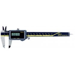 Mitutoyo - 500474 - Solar Digital Caliper 0-6/0-150mm Range, 0.0005/0.01mm Resolution, IP Rating: Not Rated, Stainless