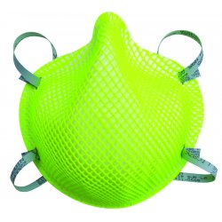 Moldex - 2200N95HV - N95 Disposable Particulate Respirator, Hi-Viz Green, M/L, 20PK