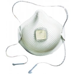 Moldex - 507-2700N95 - 2700N95 Series HandyStrap Respirator, Half-Face Mask, Medium/Large, 10/Box
