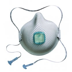Moldex - 2730AN100 - N100 Disposable Particulate Respirator, White, M/L, 1EA