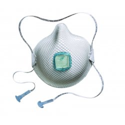 Moldex - 2730N100 - Respirator N100 Moldex Handystrap Medium/large Niosh, 5/bx