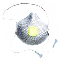 Moldex - 2840R95 - Respirator R95 With Organic Vapor Disposable Moldex Handystrap Medium/large Niosh, 10/bx