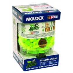 Moldex - 6674 - Goin Green Plugstation With Mounting Bracket