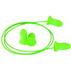 Moldex - 6970 - 33dB Disposable Contoured Shape Ear Plugs&#x3b; Corded, Green, Universal
