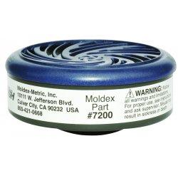 Moldex - 7200 - Acid Gas Cartridges For Moldex 7000 Or 9000 Series, Pr