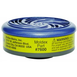 Moldex - 7600 - Multi-gas/vapor Smart Cartridges For Moldex 7000 Or 9000 Series, Pr