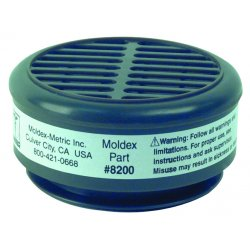 Moldex - 8200 - Cartridge, Acid Gas, Moldex, PK10