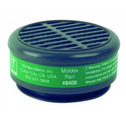 Moldex - 8400 - Respirator Cartridge 8000 Series Ammonia Moldex Metric Niosh Tc-23c 10 Pkg Qty, 10/bx