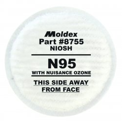 Moldex - 8755 - N95 Particulate Filter Plus Nuisance Ozone/orga