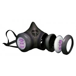 Moldex - 8941 - Sm P100 Particulate Respirator W/8900 Disk Hldr