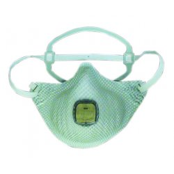 Moldex - EZ23S - Respirator N95 Dispbl With Valve Moldex Ez-on Small Niosh, Bg