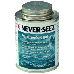 Never-Seez - NMCBT-8 - Mariners Choice 8 Oz Brush Top 2450 Deg