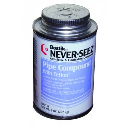 Never-Seez - NPBT-8 - 8oz.brush Top Pipe Compound W/ptfe