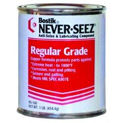Never-Seez - NSBT-16 - 1lb Brush Top Can Anti-seize Pressure Lu