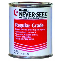 Never-Seez - NSBT-8 - 8oz Brush Top Can Anti-seize Pressure Lu