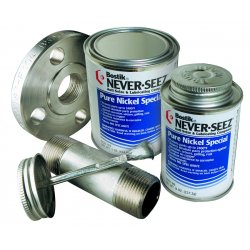 Never-Seez - NSBT-8N - 8oz Brush Top Can Nickelanti- Seize & Pre