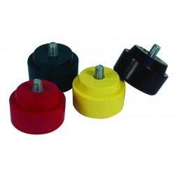 Nupla - 15103 - Hammer Tip, 1 In Dia, Medium, Red
