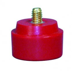 Nupla - 15-133 - Cb13m Red Medium Hard Light Duty Tip, Ea
