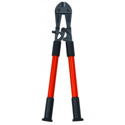 "Nupla - 76702 - Fiberglass Nonconductive Bolt Cutters, 24"" Overall Length, 1/4"" Hard Materials up to Brinnell 455/Rock"